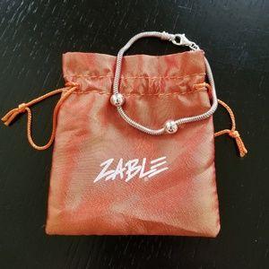 NWOT  Sterling Silver Zable Bracelet